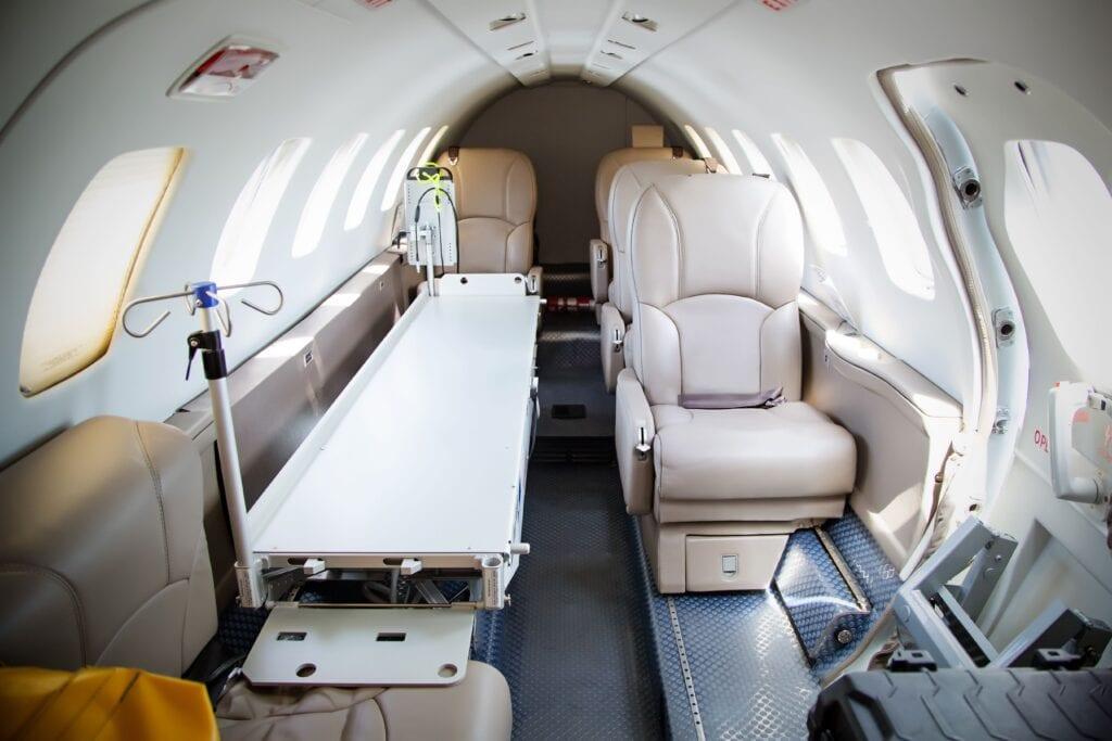 Air Ambulance Bedside to Bedside Service